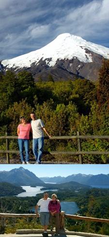 Janine et Serge Bès en Argentine et au Chili