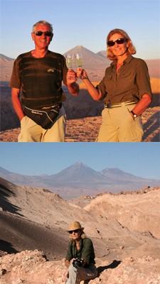 Irène et Michel Hanocque au Chili, Pérou, en Argentine et Bolivie