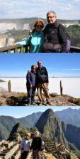 Martine et Pascal Tiberghien en Argentine, au Chili, Bolivie et Pérou