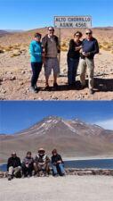 Marie-Hélène et Jean Tolon, Nicole et Georges Dewynter en Argentine, Bolivie et Chili