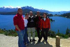Emilio, Aranzazu, Alfredo et Patricia en Argentine et au Chili