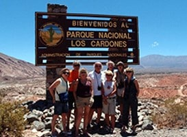 Andrée, Hélène et Didier Girard et Cie (x8) en Argentine et au Chili