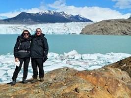 Thérèse et Pierre Perdrix en Argentine et au Chili