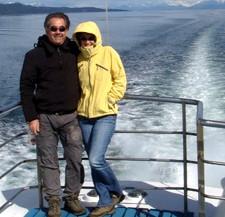 Louis Martin et Brigitte Nouhant en Argentine, Chili et Île de Pâques