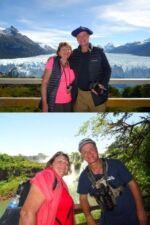 Eric Michoud et Joëlle Chenavier e Argentine et au Chili