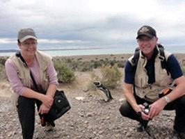 Richarde et Jean-Marc Rudloff en Argentine et au Chili