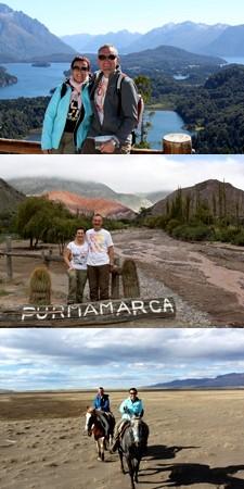 Danielle et Bernard Copero en Argentine