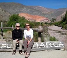 Mireille Defrenne et Susanne Bernardet-Barth en Argentine