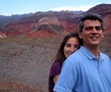 Sandra Fernandez et Tomás Díaz en Argentine