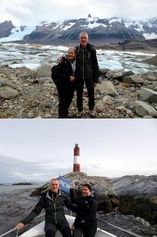Christine Graf et Jacques Dechaux en Argentine