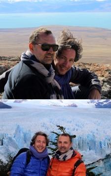 Jean-Noël Guillemain et Filippo Giargeri en Argentine