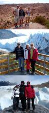Claude, Nicole et Christiane Hervé en Argentine