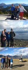 Marie, Philippe, Manon et Anthony Luquand en Argentine