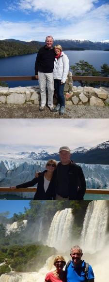 Jacques et Martine Laurent en Argentine