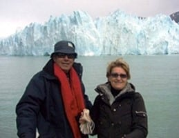 Anne-Marie et Claude Martinez en Argentine