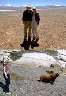 Catherine et Jean-Pierre Torro dans le nord de l'Argentine et en Patagonie