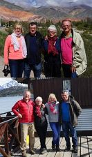 Mireille et Patrice Brossard, Josette et Jean-Pierre Paturel en Argentine