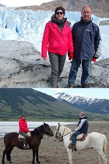 Blandine et Guy Larrecq en Argentine et Patagonie