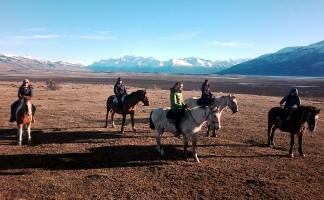 Sandrine P. en Patagonie argentine