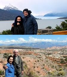 Didier Vadon et Geneviève Berthet en Argentine