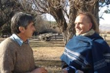 Mr et Mme Vidal en Argentine