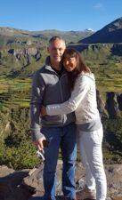 Céline et Olivier Blanc au Pérou