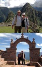 Richarde et Jean-Marc Rudloff au Pérou