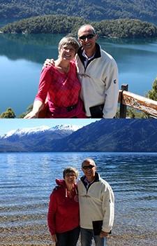 Nancy et Giuseppe Novena en Patagonie argentine