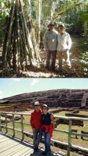 Louis et Brigitte Martin en Bolivie
