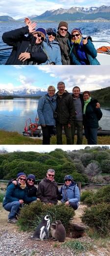 Claude et Chantal Donay, François et Françoise Pomme en Argentine et au Chili