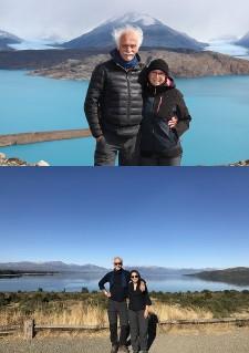 Danièle et Alain Maury en Argentine et au Chili