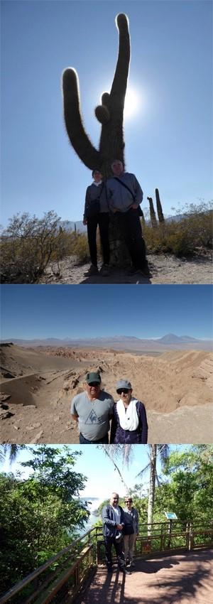 Florence et Philippe Gaillard au Chili et en Argentine