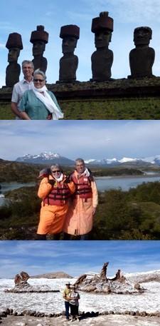 Martine et Michel Gemin au Chili et en Argentine
