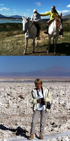 Michèle Le Danvic et Jean-Luc Levionnois au Chili et en Argentine