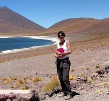 Marie Boronat au Chili
