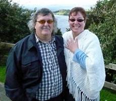 Sylvie et Gaétan Franco au Chili
