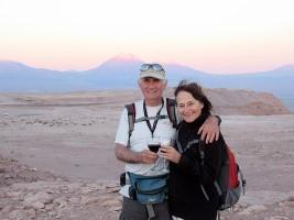 Mylène et André Charron au Chili