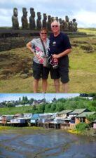 Chantal et Claude Deruelle au Chili et Ile de Pâques