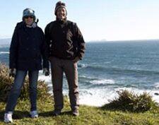 Elisabeth et Bernard Petridis au Chili