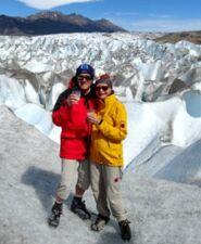 Nicole et Jacques Besse au sud de la Patagonie