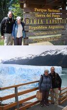 Marie-Christiane et Jacques Maget en Argentine