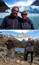 Louis et Brigitte Martin à Mendoza et en Patagonie