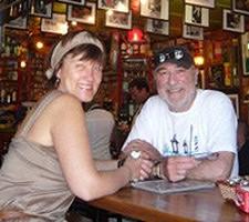 Annie et Maurice Daumas en voyage de noces en Argentine