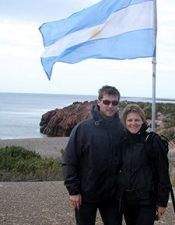 Stéphanie Laas et Laurent Van Hollemeersch en Argentine