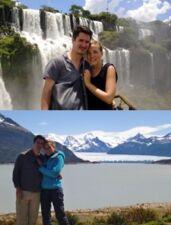 Marion Laurent et Marc en Argentine