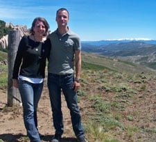 Voyage de noces de Virginie Laurès et Adrien Matt en Argentine