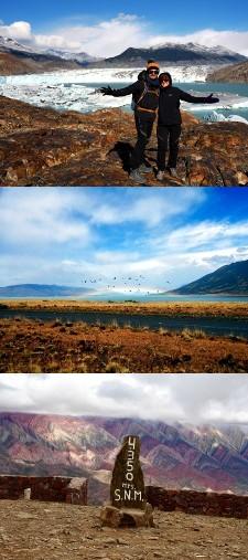 Alexandre Galan et Caroline Ronin en Patagonie et Nord-ouest Argentine