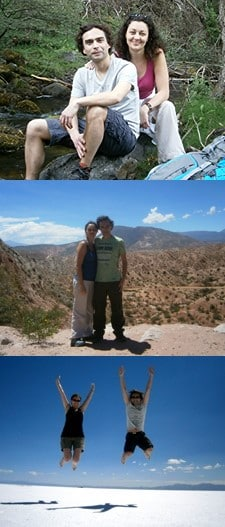 Nathalie et Nicolas Sorin en Argentine