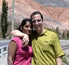 Coralie et Jérémie Voita Busset au Chili et en Argentine