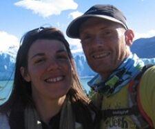 Guilène Capblanquet et Marc Bonnemaison en Patagonie